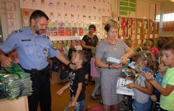 Iskolarendőr látogatása